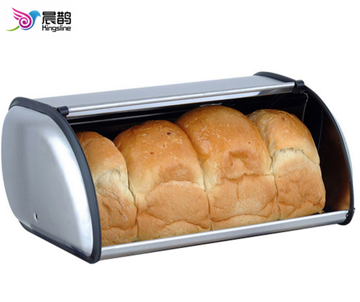 Stainless Steel Bread Box for kitchen, bread bin, bread storage Bread holder