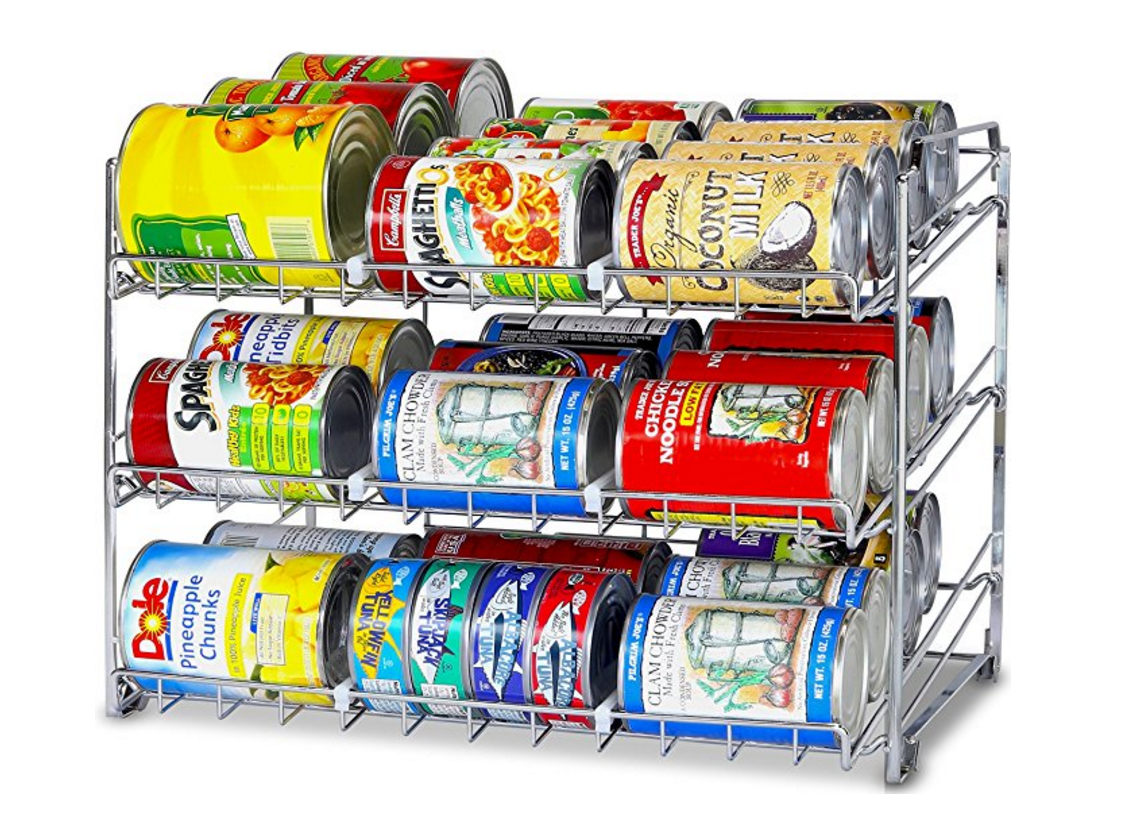 Stackable Can Rack Organizer